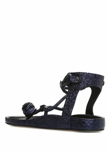 Etoile İsabel Marant Sandalet Lacivert